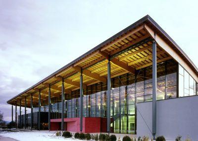Centre culturel, théâtre et médiathèque, Divonne-les-Bains