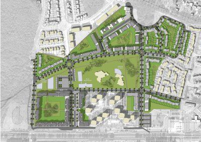 Conception architecturale et immobilière d'un nouvel écoquartier, Quartier des Joncs Marins, Fleury-Mérogis