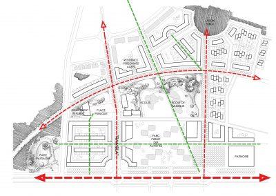 Conception urbaine d'un nouvel écoquartier, Quartier des Joncs Marins, Fleury-Mérogis